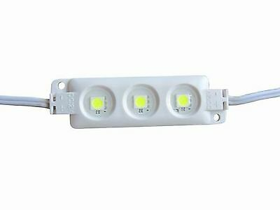 Injection 5050 SMD 3 LED Waterproof DC12V  warm white