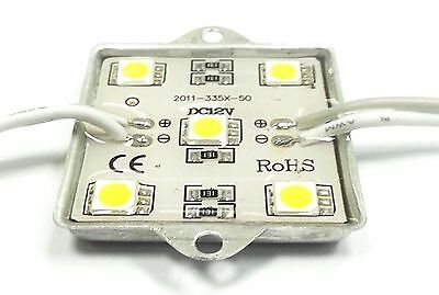 DC12V, white color, 5pcs LED5050SMD,  IP65, waterproof, with an