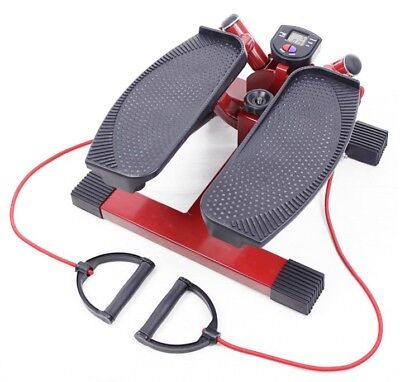 Stepper Con Tensores  Escaladora Cardio Training Aerobic Tonificar