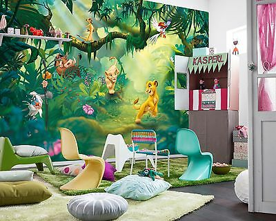Wall Mural Photo Wallpaper LION KING Baby Kids Room DECOR Disney 368x254cm