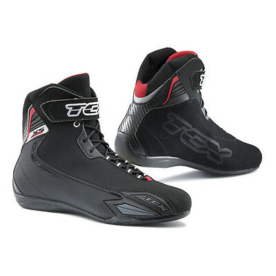 TCX Mens X-Square Sport Black Street Motorcycle Boots Shoes