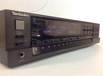 Vintage Technics SA-R210L  receiver Integrated Amplifier Phono Stage Graphic EQ
