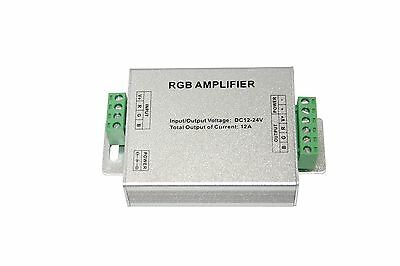 LED RGB Amplifier 12V-24Vdc 3x4A 12W/144W