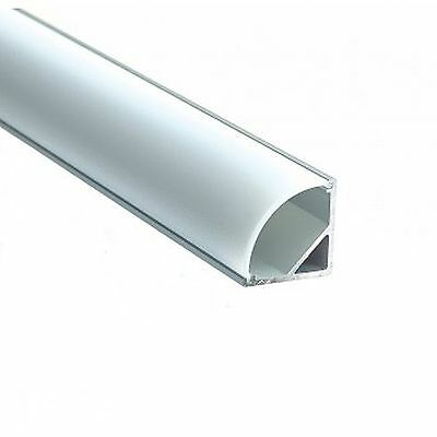 Cover for Aluminum LED strips profile SR16, frosted, length 1m