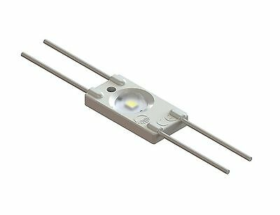 LED module, 12V, 0.36W, 1xSMD2835, 35lm, with lens 160C, cold white AKTOled