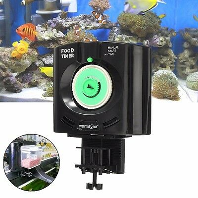 Daily 6 Times Automatic Fish Pet Feeder Aquarium Tank Feeders Auto Food Timer