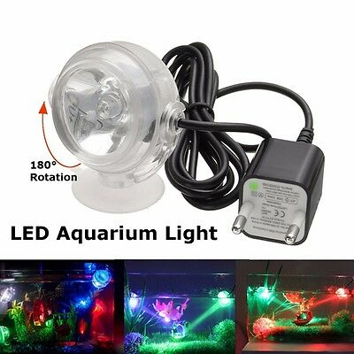 LED Aquarium Diving Light LED Underwater Fish Tank Decor Lamp Candle Lighting