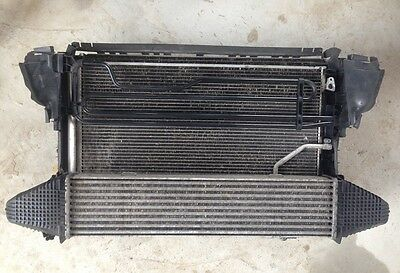 Mercedes C E-Class W204 S204 W212 W207 RADIATOR PACK AIR CON INTERCOOLER Manual