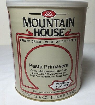 # 10 Can - Pasta Primavera - Mountain House Freeze Dried Emergency Food MRE
