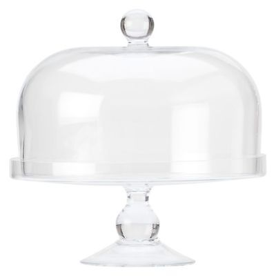 NEW Maxwell & Williams Diamante Cake Stand with Dome
