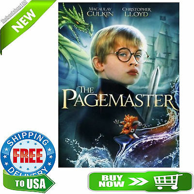 The Pagemaster...Kids Family DVD, NEW