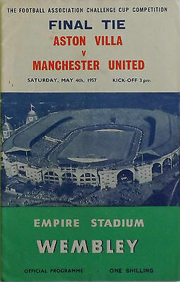 FA Cup Final Programmes *Choose from list*