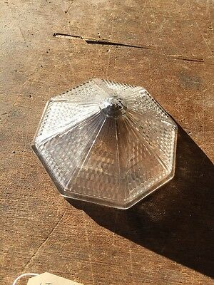Lt 6 Art Deco Light Fixture Glass Cap