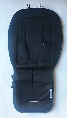 Bugaboo Padded Universal Stroller Seat Liner Fabric Black $59