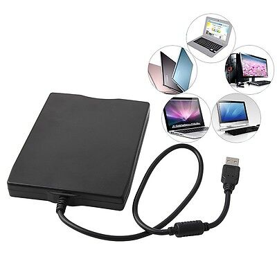 "3.5"" USB External Portable Floppy Disk Drive 1.44MB Data Storage For PC Laptop"