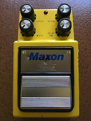 Maxon FL9 Flanger Pedal #034F90076 (Reissue With True-Bypass)