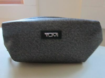 TUMI DELTA Soft Case First Class Amenity Kit Zippered Toiletry Bag