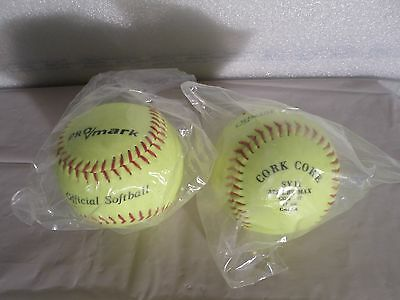 Pro Mark official softball SY11 lot of 2