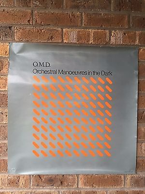 """1981 Orchestral Maneuvers in the Dark Promo Poster for """"OMD"""""""
