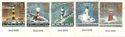 Great Britain Stamps 1998: Lighthouses: Smalls, Needles Rock,Bell Rock,Eddystone