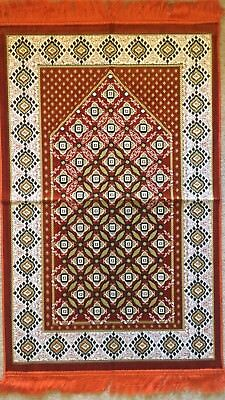 prayer mat Rug Zainamaz Islamic Muslim salat Namaz Turkish Musallah