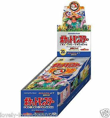 Pokemon Card Game XY CP6 BREAK 20th Anniversary Booster Box Japan 1st Edition