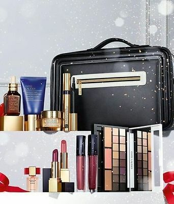 Estee Lauder Xmas 2016 Blockbuster Set.Smokey Noir Collection Trackable Post