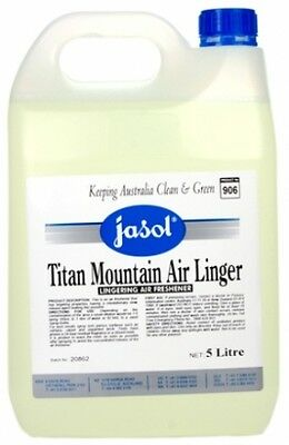 5 litre - Jasol Titan Mountain Air Linger - Household Cleaning Products