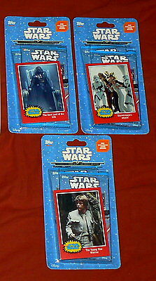 Lot of 3 2015 Topps Journey to Star Wars The Force Awakens 6 Trading Card Packs
