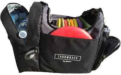 The Throwback Sack - Frisbee Disc Golf Bag with Cooler and Extra Padding, Comfor