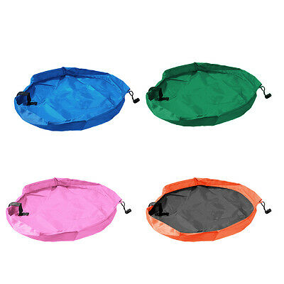 Practical Kid Toys Organizer Buggy Bag Play Mat Rug Toy Storage Holder Boxes HO