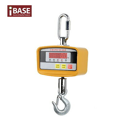 500Kg Electronic Crane Scale Digital Industrial Medical Hook Hanging Weight New