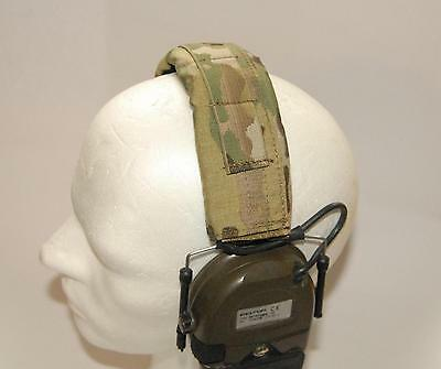 Cover Headset Hearing Protection Pad Peltor ComTac MSA Crye Precision Multicam