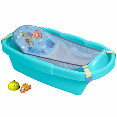 First Years Disney Pixar Finding Nemo Bath Tub Newborn/Baby/Infant/Toddler Blue