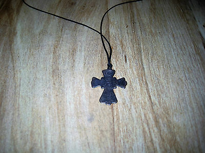 Antique Circa 1880 Fine Ethiopian Cross Pendant
