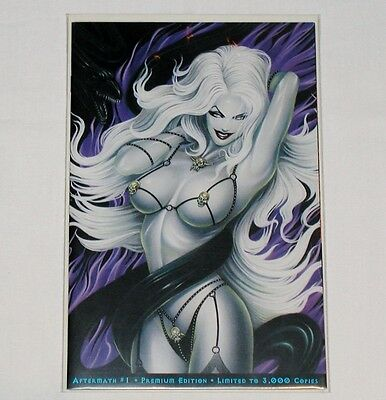 Aftermath #1 Premium Ed. Limited to 3000 - Lady Death Chaos Comics HTF