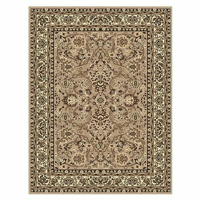 NEW Saray Rugs Wisdom Weaver Oriental Rug in Beige, Black, Brown, Grey, Red