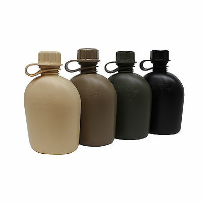 Made In Us 1 Qrt Canteen Military Spec Heavy Duty Usa American Army Bottle