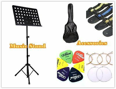 New Adjustable Heavy Duty Large Stage Music Sheet Stand / Guitar Accessories