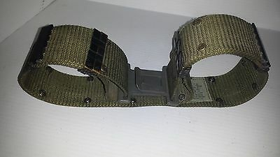 US army belt with quick release buckle