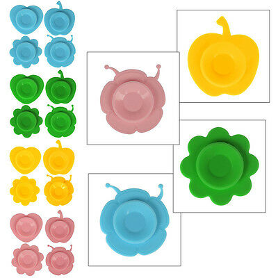 2/4xMagical Baby Bowl Silicone Useful Non-slip Meal Mat Kids Suction Mat UK