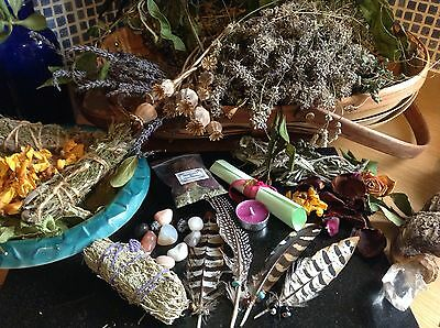 Good health spell~ wicca~witchcraft~magic spell kit -Protection Herbs