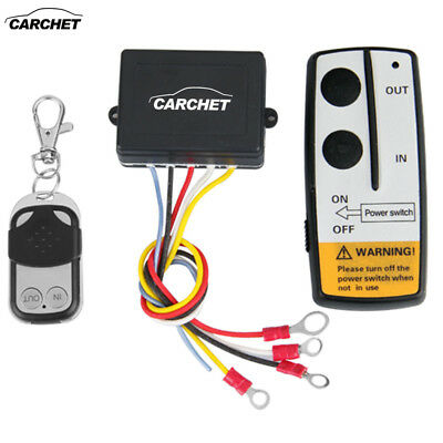 50ft/15M Wireless Warn Remote Control Kit for Truck Jeep ATV Winch 12V 12 Volt