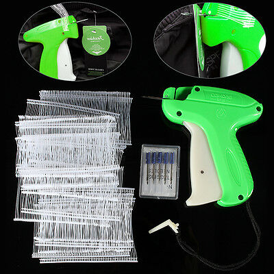 Price Tagging Gun Label Clothes Garment Tag Machine with 1000 Barbs and 5 Needle