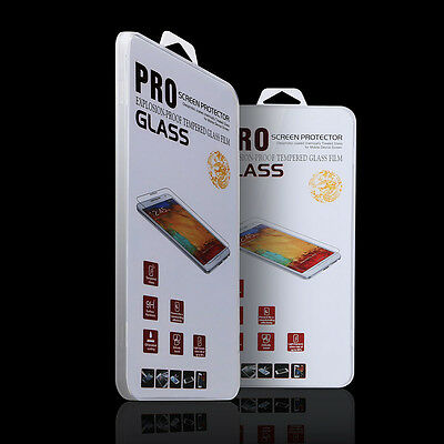 Tempered Glass Screen Protector Film  Samsung Galaxy S4 100% Genuine Premium