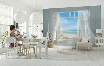 Wall Mural Photo Wallpaper MALIBU HOLIDAY SEA BEACH VIEW Room Decor 368x254cm