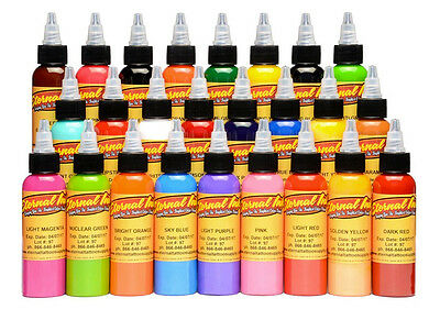 Eternal Tattoo Ink 1oz All Colours Choose Your ADVANCED TATTOO INKS