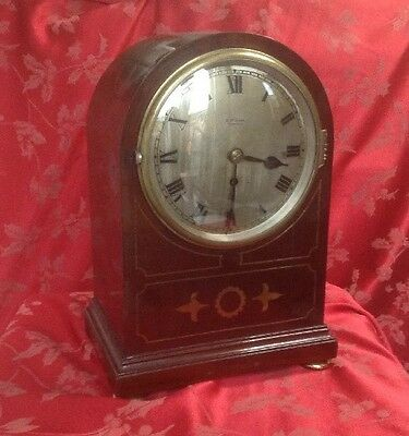 Fabulous Striking Fusee Bracket Clock With Inlaid Dome Top Case Rippon Sheffield
