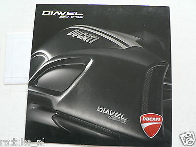 D711 Brochure Ducati Diaval Amg 2012 Italian/english 8 Pages