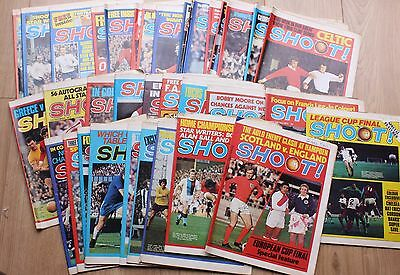 114 Shoot! Football Soccer Magazines Vintage Collection 1971 1972 1973 1974 1975